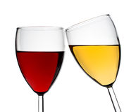 Two glasses Stock Photo