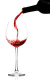 Two glasses of red wine Royalty Free Stock Photo