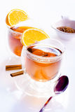 Two glasses of tea Royalty Free Stock Image
