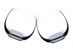 Two glasses of whiskey Royalty Free Stock Photo