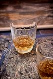 Alcohol,taste and drink concept. Royalty Free Stock Photos