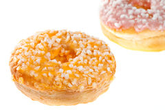 Two Glazed Donuts Royalty Free Stock Photography