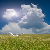 Two gliders Royalty Free Stock Photo