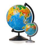 Two globes Royalty Free Stock Image