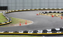 Two go-carting track Stock Image