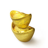 Two Gold Royalty Free Stock Images