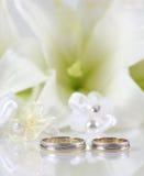 Two Gold Wedding Stock Photos