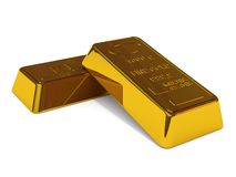 Two goldbars Royalty Free Stock Photography