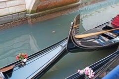 Two gondolas Stock Image