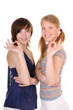 Two good friends Royalty Free Stock Photography