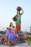 Two gopis Royalty Free Stock Photography