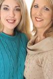 Two gorgeous woman Royalty Free Stock Photos