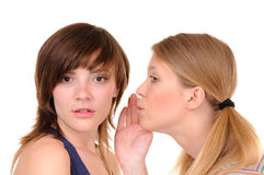 Two gossips Royalty Free Stock Photos