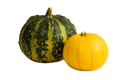 Two gourds Stock Photo
