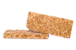 Two Granola bars cutout Royalty Free Stock Image