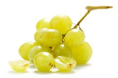 Two grape berries Royalty Free Stock Image