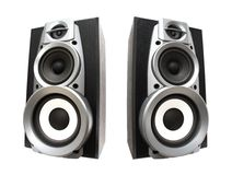Free Two Great Loud Speakers Royalty Free Stock Photography - 2302027