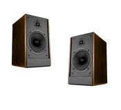 Two great loud speakers Stock Images