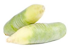 Two Green Turnips Royalty Free Stock Image