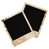 Two grunge  photo frame Royalty Free Stock Photos
