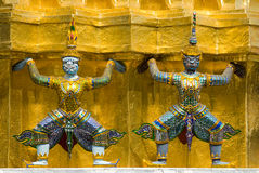 Two guardians Royalty Free Stock Images