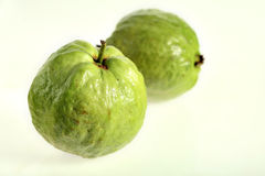 Two guava fruits Stock Photography