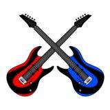 Two guitars Stock Photo