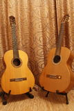 Two guitars Stock Photos