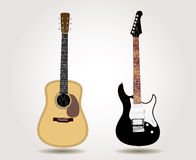 Two guitars Royalty Free Stock Image