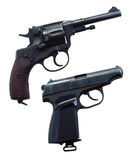 Two guns Stock Photo