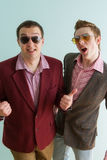 Two guys Stock Photography