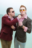 Two guys Royalty Free Stock Photography
