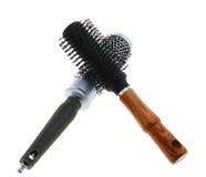 Two hairbrush Royalty Free Stock Photos