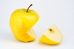 Two half apples Royalty Free Stock Photography