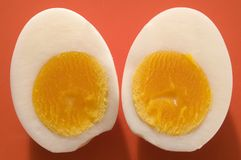 Two half egg Royalty Free Stock Photography