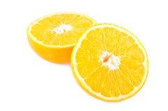 Two half orange Royalty Free Stock Photo