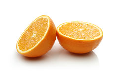 Two Half Orange Royalty Free Stock Photo