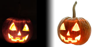 Free Two Halloween Pumpkin Stock Images - 11036594