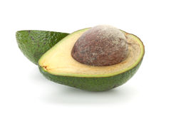 Two halves of avocado Stock Photography