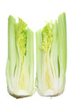 Two Halves of Celery Royalty Free Stock Photography