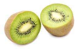 Kiwi fruit isolated Stock Images