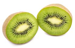 Kiwi fruit isolated Royalty Free Stock Images