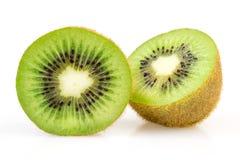Two halves kiwi Stock Photo