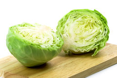 Free Two Halves Of Green Cabbage Stock Photography - 14600742