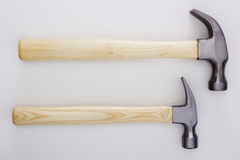Two hammer Royalty Free Stock Photography