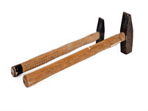 Two hammers Royalty Free Stock Image