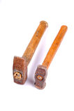 Two hammers Stock Photos