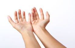Two hand Stock Photo