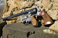 Two Hand Guns Royalty Free Stock Photo