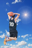 Two-handed jam in the sun Royalty Free Stock Photo